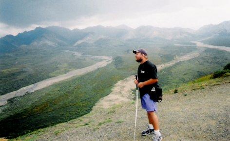 Tony on Whistler Mountain