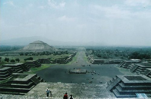 Avenue of the Dead, Teotihuacan, Mexico City