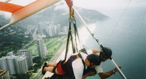 Handgliding in Rio de Janeiro