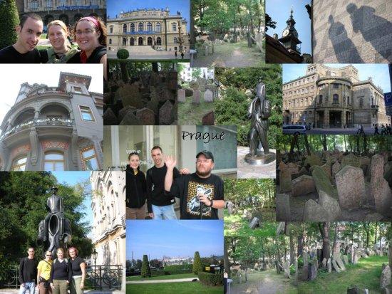 Prague: a collage of photos (3)