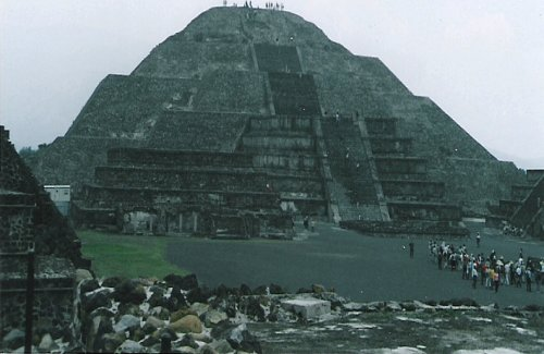 Pyramid of the Sun, Teotihuacan, Mexico City
