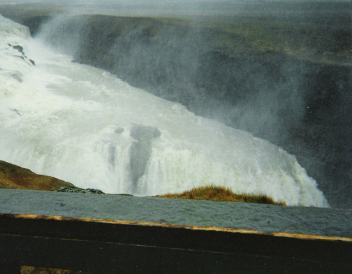 Golden Waterfall on the Golden Circle Tour