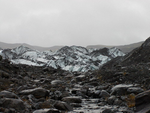 Top of Myrdalsjokull