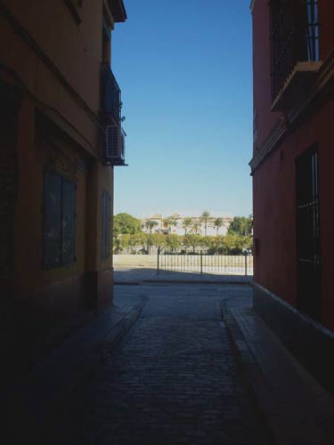 View from a side street
