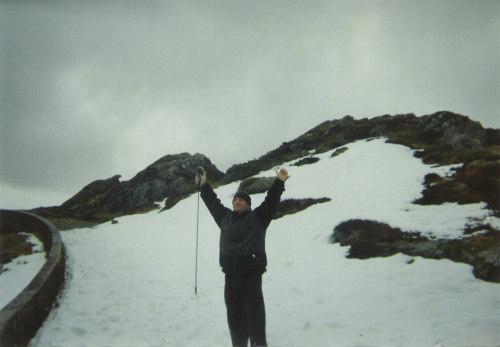 Tony on Mount Floyen