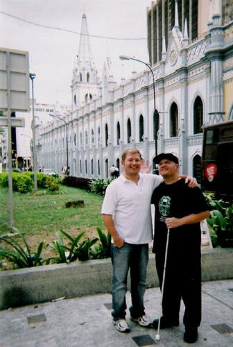 Tony and Darwin, Caracas
