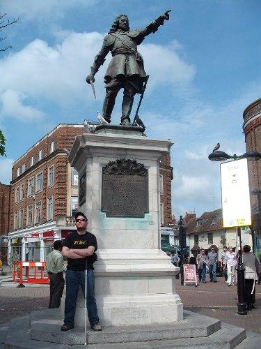 John Hampden, Market Square, Aylesbury, Bucks