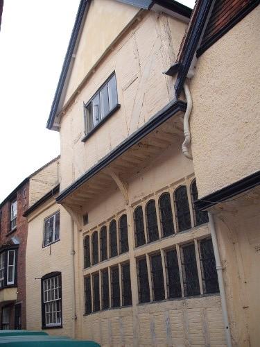 National Trust property, The King's Head Inn and Coach House, Aylesbury, Bucks
