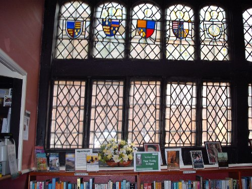 Stained Glass window in The King's Head Inn, Aylesbury, Bucks