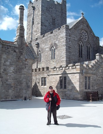 The castle on St Michael's Mount, Cornwall