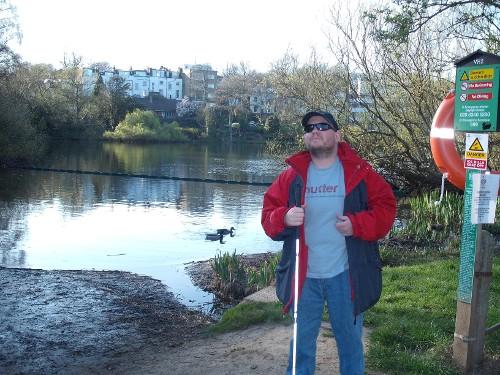 Tony at Hampstead Heath, London