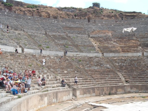 The large amphitheatre, Ephesus