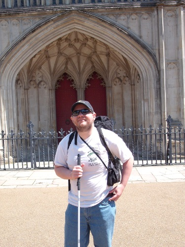 Winchester Cathedral door
