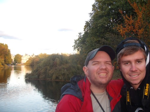Tony & Chris, St James's Park, London