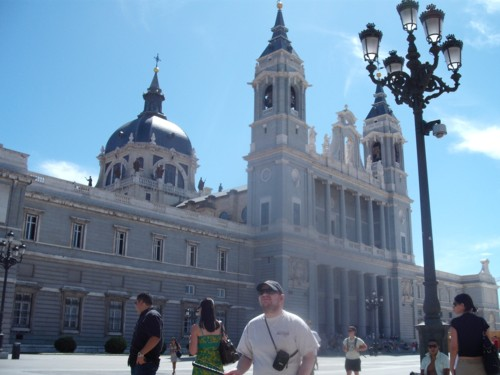 Madrid Cathedral, 19th July 2009