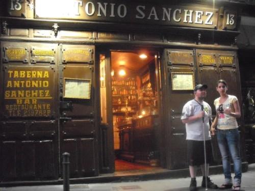 Tony and Glensey, Madrid