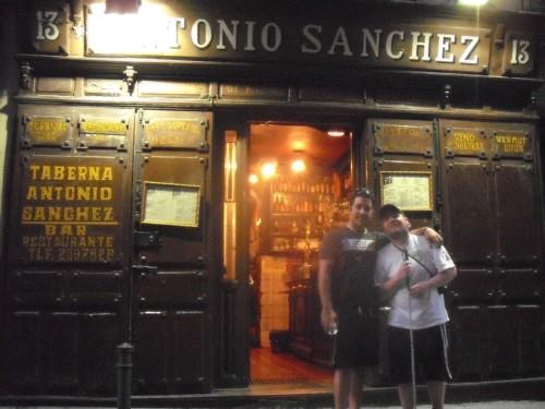 Tony and Manrique, Madrid