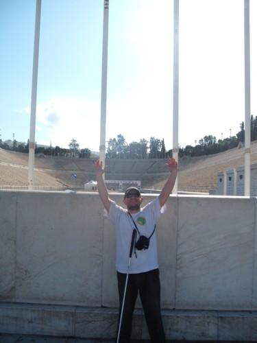 First modern Olympic Stadium, 1896. Athens, 6th November 2009.