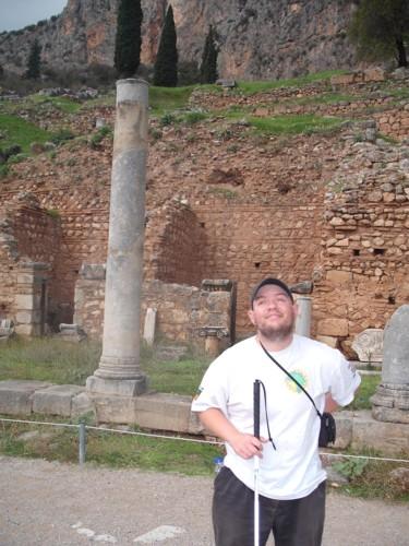 Delphi, central Greece. 7th November 2009.