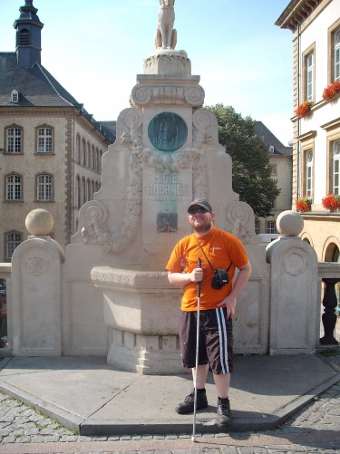 Fountain in Luxembourg City