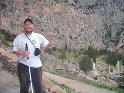 Tony at Delphi, 7th November 2009.