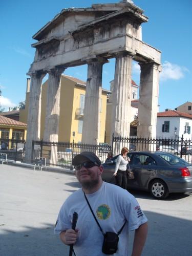 Tony in Athens, Greece. 6th November 2009.