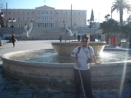 Syntagma Square, Athens, 17th Nov 2009.