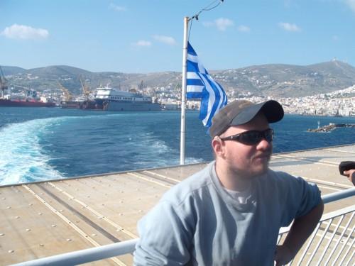 Syros harbour, Greece, 19th Nov 2009.