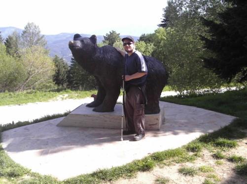 Tony and bear