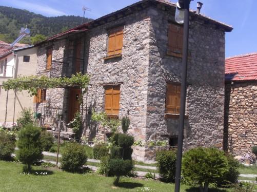 Villa Dihovo guesthouse where Tony stayed.