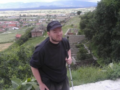 Tony near St Archangel Michael monastery.
