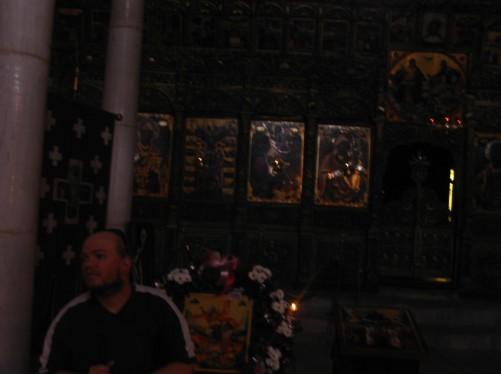 Inside St. Dimitrija Church.