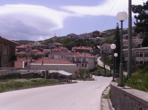 A view of Krusevo town.