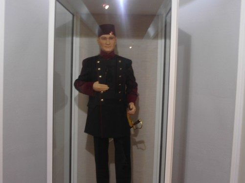 Model of a Turkish soldier from WWI. Bitola Museum and Visiting Institute.