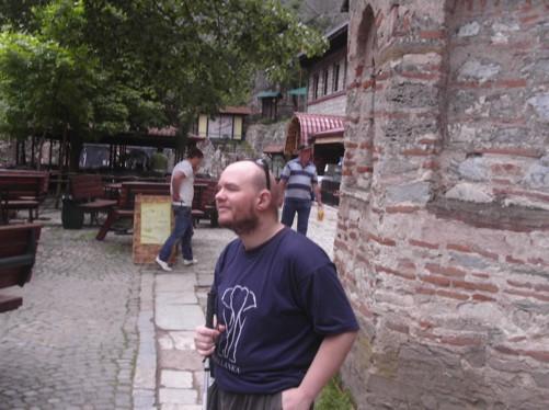 Tony at St. Andrew's Monastery