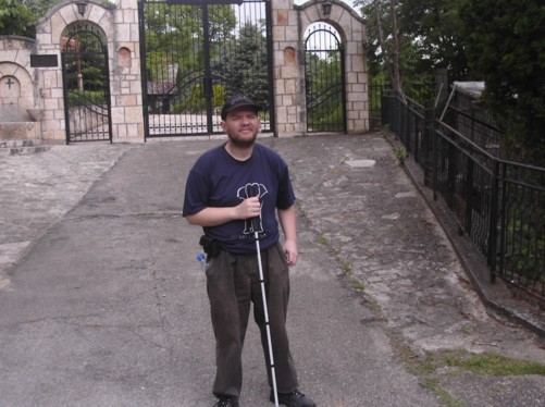 Tony at Matka Monastery (Monastery of the Holy Mother of God).