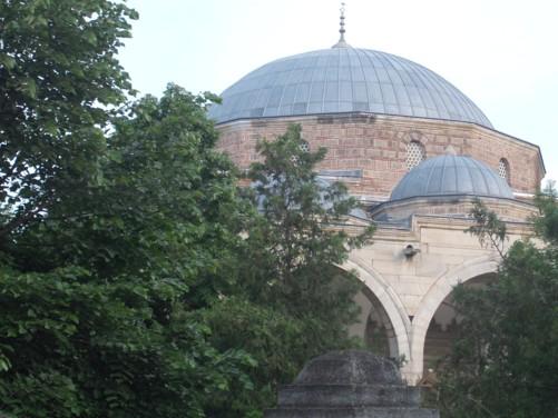 Dome of Mustafa Pasha Mosque.