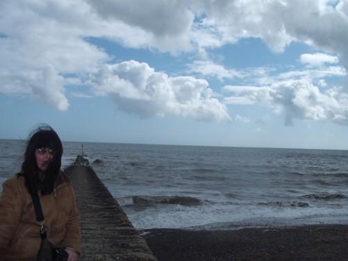 Tatiana, seafront, Dawlish.