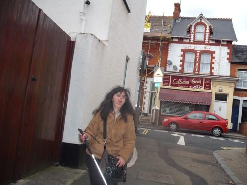 Tatiana, side street, Dawlish.
