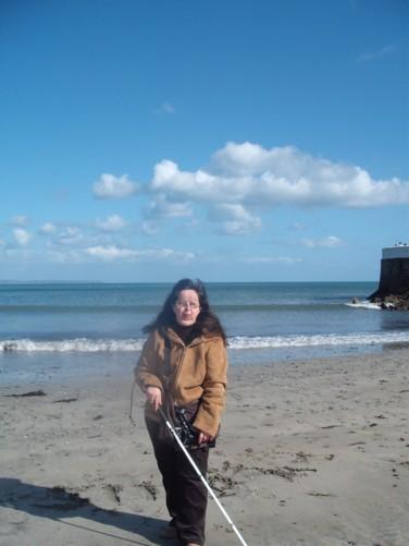 Tatiana, Looe beach.