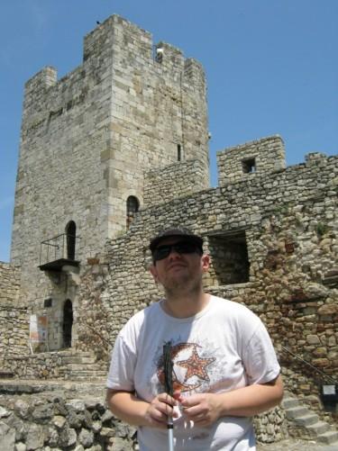 Tony at Kalemegdan Fortress.