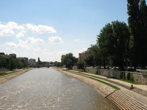 Another view of the Nišava River.