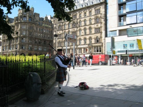 Princes Street, Edinburgh. 20th July 2010.