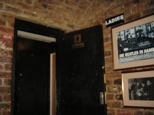 Inside The Cavern, Liverpool.