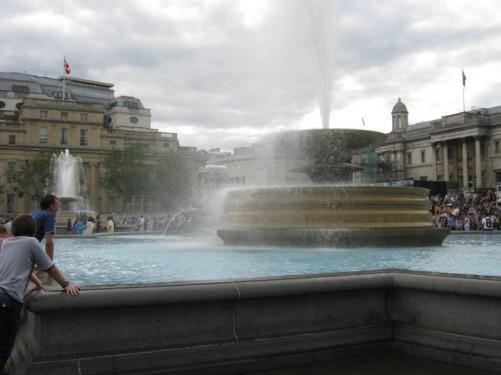 Trafalgar Square, London, 28th July 2010.