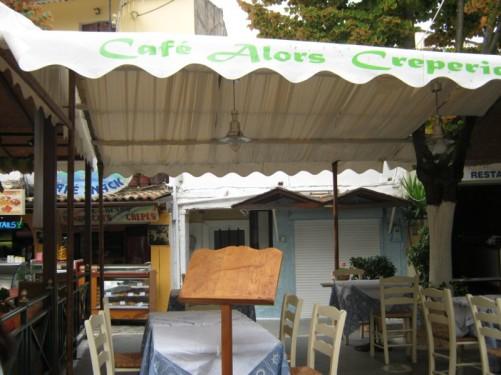 Café/restaurant in Mpenitses.
