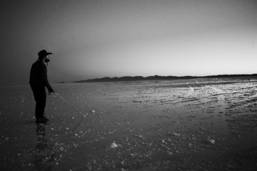 Salar de Uyuni salt flats, 24th March, near Uyuni, southwest Bolivia.