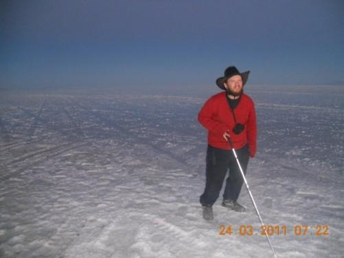Salar de Uyuni salt flats. 24th March 2011.