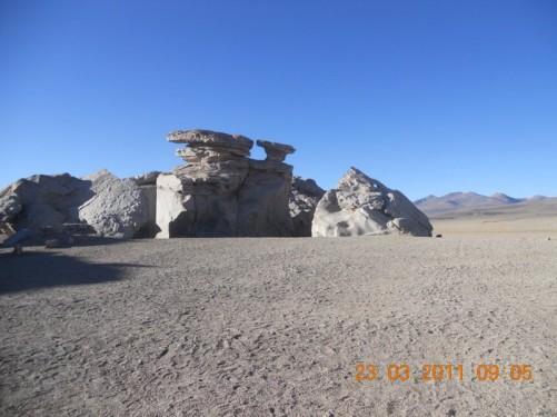 The Siloli desert, Bolivia, 23rd April 2011.
