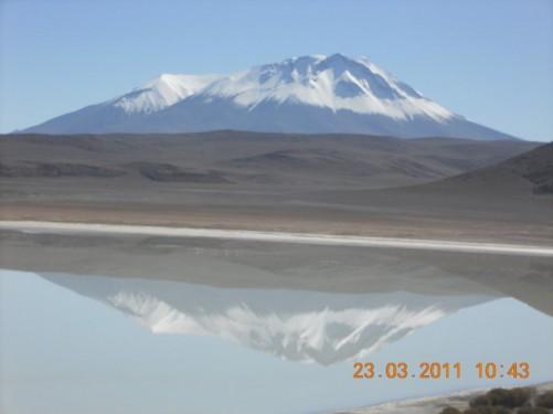 Volcano Tomasamil, Bolivia (5900 metres above sea level).
